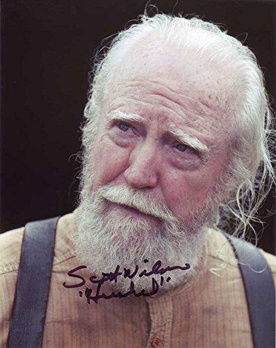 Scott Wilson in-person autographed photo The Walking Dead