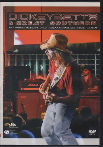 ディッキー・ベッツ&グレート・サザンライヴ! [DVD]