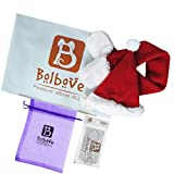 Bolbove-Pet-Adjustable-Christmas-Santa-Hat-Scarf-for-Small-Dogs-Cats-Holiday-Accessory