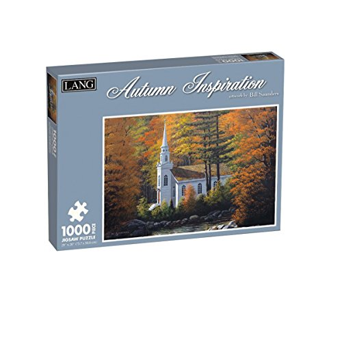 Lang Autumn Inspiration by Bill Saunders Jigsaw Puzzle (1000-Piece)