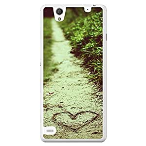 a AND b Designer Printed Mobile Back Cover / Back Case For Sony Xperia C4 (SONY_C4_657)