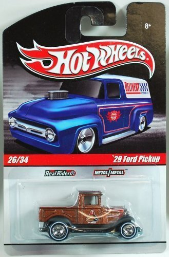 HOT WHEELS Slick Rides (Delivery) 26/34 '29 Ford Pickup * Real Riders * Metal/Metal
