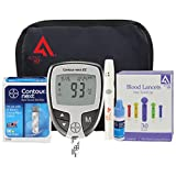 Bayer Contour NEXT Complete Diabetes Testing Kit, 50 Count (Bayer Contour NEXT EZ Meter W/Carry Case, 50 Test Strips, 50 30g Lancets, Lancing Device, Control Solution, Owners Manual/Log Book)