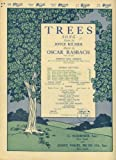 Trees (sheet music) (For the Organ)