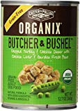 Organix Butcher & Bushel Chopped Turkey & Chicken Dinner with Chicken Liver & Garden Fresh Peas Grain-Free Adult Dog Food, 12.7-Ounce Cans (Pack of 12)