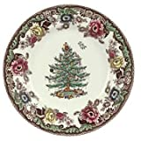 Spode Christmas Tree Grove Dinner Plate, Fine China Dinnerware