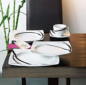 luminarc 5084185 service assiettes 30 pi ces table. Black Bedroom Furniture Sets. Home Design Ideas
