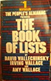 People's Almanac Presents the Book of Lists (0553247689) by Wallechinsky, David