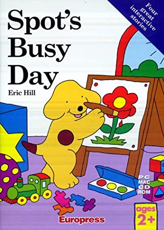 Spot's Busy Day (DVD Case)