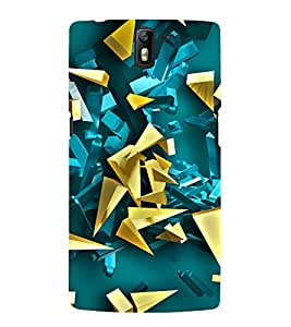 Fuson Premium Back Case Cover Crystals With Multi Background Degined For One Plus One::One Plus1
