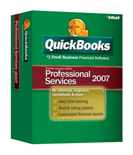 Quickbooks Premier Professional Services Edition 2007 [Older Version]