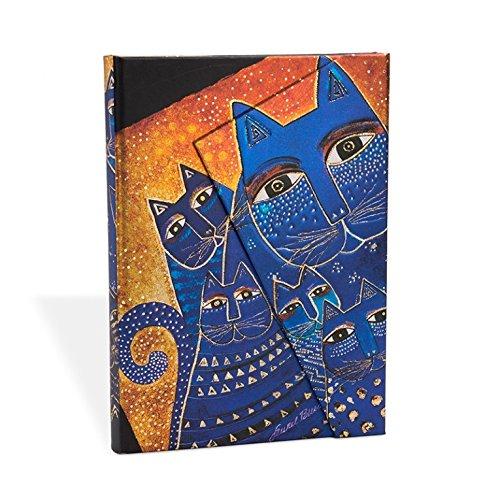 Smythe Sewn Fantastic Felines Mediterranean Cats Lined Mini Wrap (Paperblanks: Fantastic Felines)
