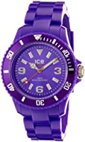 Ice-Watch Unisex Quartz Watch with Purple Dial Analogue Display and Purple Plastic or PU Bracelet SD.PE.U.P.12