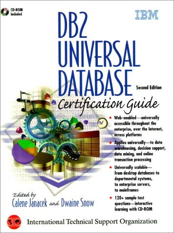 DB2 Universal Database Certification Guide with CDROM