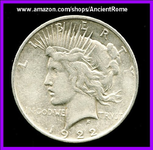 VARIOUS DATES and QUALITY. ONE PEACE SILVER DOLLAR