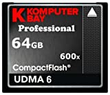 Komputerbay 64GB COMPACT FLASH CARD Professionelle CF 600X 90MB
