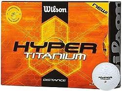 Wilson Hyper Titanium Golf Balls