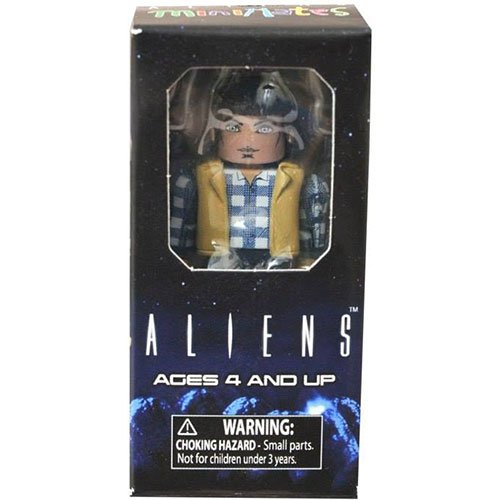 "Minimates Aliens Vs Marines Carter Burke 2"" Mini-Figure"