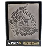 Guinness Wings Grey Leather Wallet