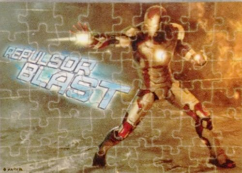 Marvel Iron Man 3 ~ Tiny Travel Puzzle Tin ~ 50 pieces - 1