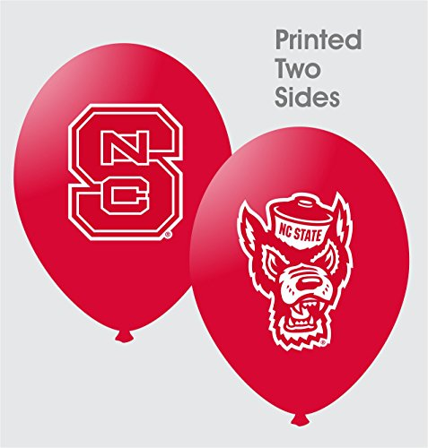 "NCAA North Carolina State Wolfpack Red 10-Pack 11"" Latex Balloons - 1"