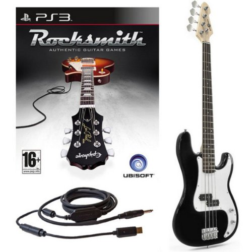 Rocksmith (PS3) + Electric G-4 Bass Guitar in 