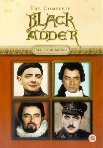 The Complete Blackadder - All Four Series [DVD]