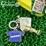 2010FIFAワールドカップオフィシャル携帯ストラップ(3種チャーム/日本)SA10-M-0035