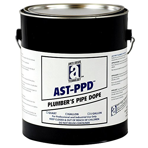 AST-PPD 25130 Plumbers Pipe Dope, Professional Grade, 1 gal, Tan (Plumbers Pipe Dope compare prices)