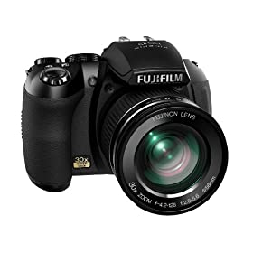 The Electronics World | Fujifilm FinePix HS10 10 MP CMOS Digital Camera with 30x Wide Angle Optical Zoom and 3-Inch LCD
