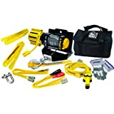 Superwinch 1125149 Winch-In-A-Bag Plus, 2500lbs/1134kg single line pull with Gloves, 2 x 6' tree saver straps, Portable, No Installation,