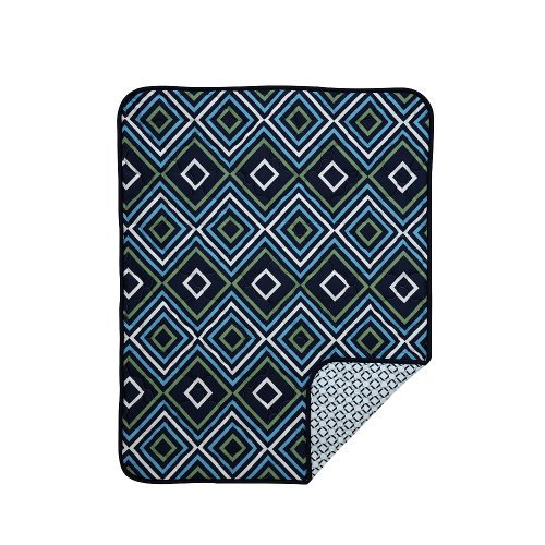 Happy Chic Baby by Jonathan Adler - Charlie Chain Link Quilt.