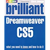Brilliant Dreamweaver CS5by Mr Steve Johnson