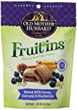 Old Mother Hubbard Fruit Ins Natural Dog Treats Made in USA Only, Honey Oatmeal & Blueberry Biscuits, 6-Ounce Bag