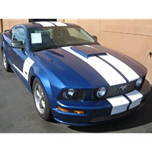"""05-09 Mustang Gt 10"""" Lemans Racing Stripes Made With 3M Hi Performance"""