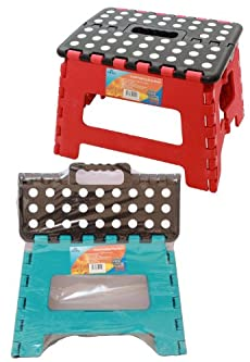 SMALL FOLDING STEP STOOL KITCHEN GARAGE HOME STORE