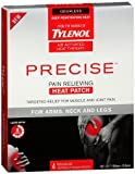 Tylenol Precise Pain Relieving Heat Patch, Arms/Neck/Legs,  4 Count