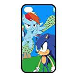 FashionFollower Design Classical Cartoon Series Sonic the Hedgehog Beautiful Phone Case Suitable For iphone4/4s IP4WN31506