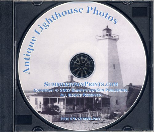 Antique Lighthouse Photos: Large Images for Prints
