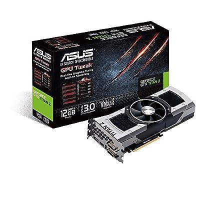 ASUS GeForce GTX Titan Z 12GB GDDR5 Graphics Card - GTXTITANZ-12GD5