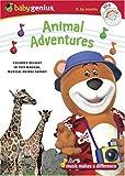 Baby Genius Animal Adventures DVD w/Bonus Music CD