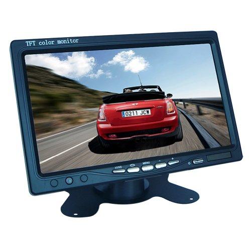 "Generic Portable 7"""" TFT LCD Digital Color Screen Monitor for Car Rear View Backup Camera"