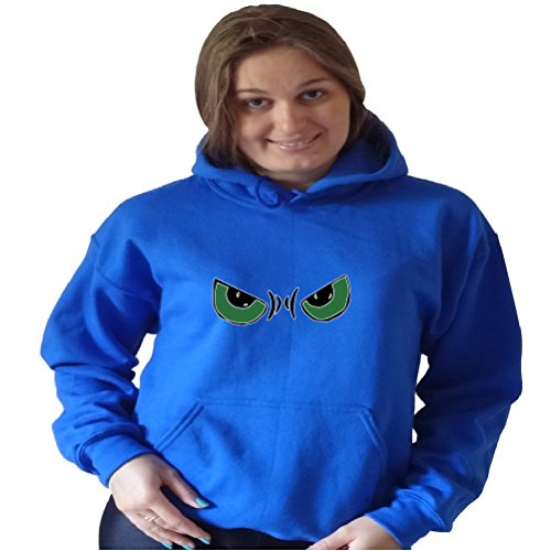 Iron On Halloween Unisex Hoodie Xx-Large, Blue front-87176