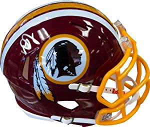 DeSean Jackson Autographed Washington Redskins Mini Helmet by Hollywood Collectibles