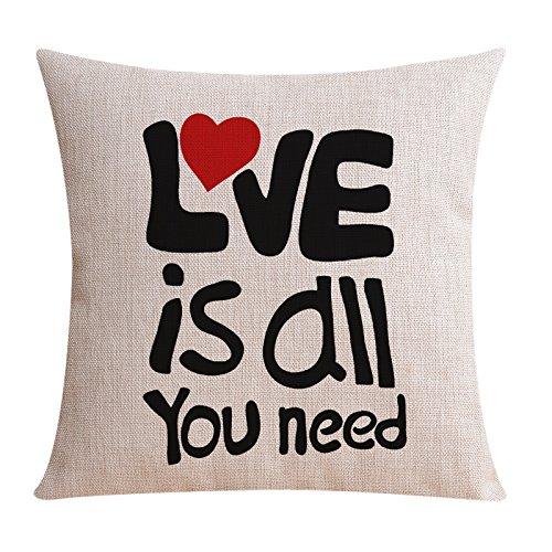 UNUSRFN Inspirational Citazioni inglese cotone pesante e lino energia creativa è l'Ufficio dei cuscini vita
