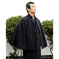 トンビコート 男性用とんびコート インバネスコート 和装 ウールM寸/L寸