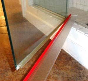 Amazon Com Shower Door Drip Rail W Vhb Tape 30 Quot Long