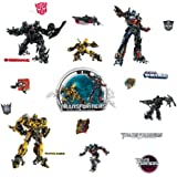 ROOMMATES RMK1091SCS Transformers 3 Peel & Stick Wall Decals