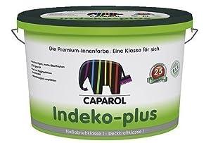 Caparol Wandfarbe Indeko plus Innenfarbe 12,5 L weiß  BaumarktKundenbewertung: