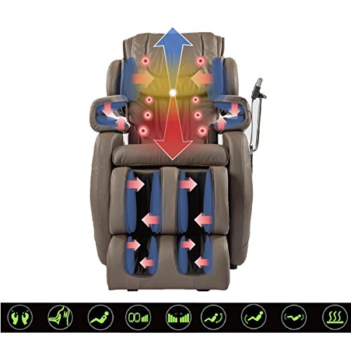 2016 BEST NEW FULL MASSAGE CHAIR ZERO GRAVITY SHIATSU CHAIR BUILT IN...